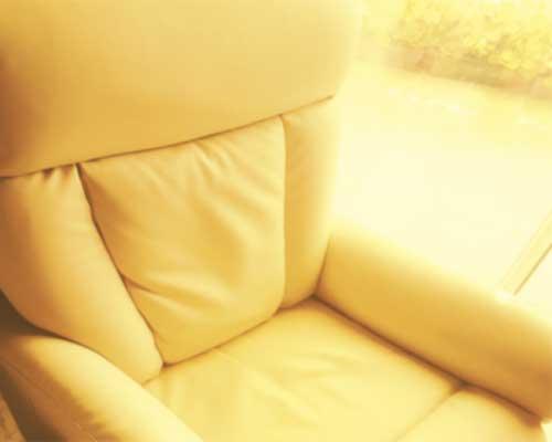 ¿Qué pensarías en tu sillónbeige?